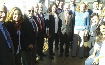 La Mesa del Turismo se reúne con Matilde Asián para abordar la actual coyuntura turística