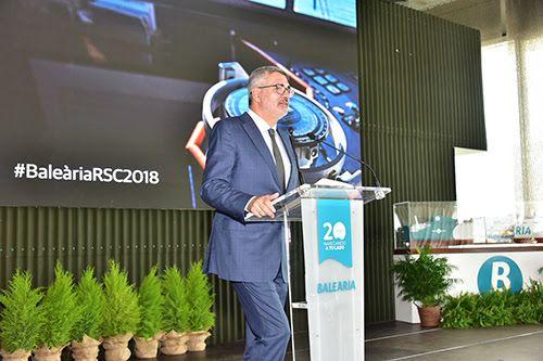 La nueva generación de 'smart ships' a gas concretan la apuesta de Baleària por la innovación y el crecimiento económico sostenible